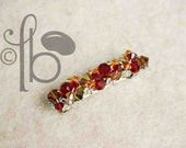 Give Thanks  Jeweled Boutique Barrette