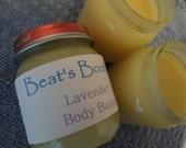 Beat's All Natural Lavender Body Butter 4oz Jar