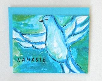 NAMASTE Set of 8 elemental art cards