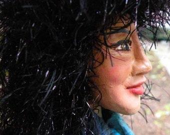 MADAME BUTTERFLY elemental art doll