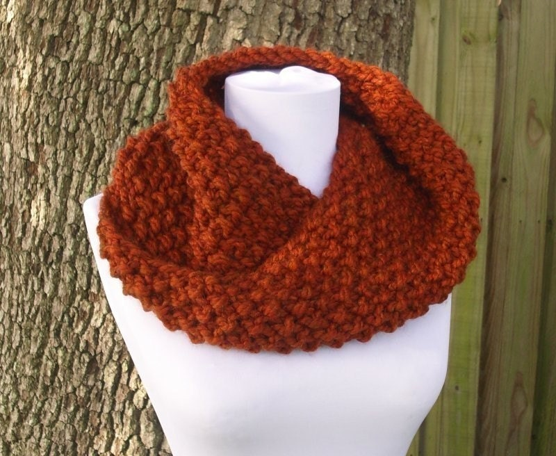 Knitting Patterns Scarf Cowl : PDF Knitting Pattern for The Chunky Mobius Cowl by pixiebell