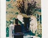 Country Still Life 2, Handmade Photographic Note Card