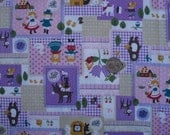 Japanease Happy Fairy Tales Fabric FQ