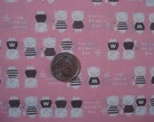 Japanease Cute Pig Fabric FQ