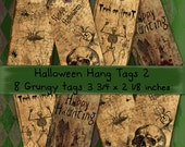 Halloween Hang Tags 2