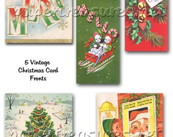 Vintage Christmas Cards 2