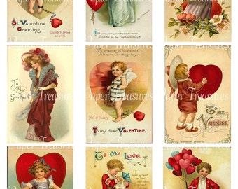Vintage Valentine Downloadable Collage Sheet 4