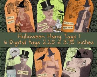 Halloween Hang Tags 1
