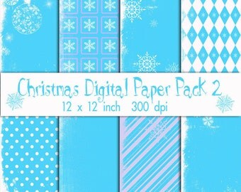 Christmas Digitl Paper Pack 2