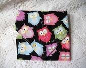 ItsAWrap Sammie Wrap reusable Owl Cuties