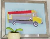 Taco Truck Print