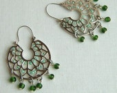 Mexico Lindo earrings RESERVED FOR SPARKLEGARDEN