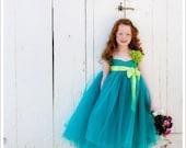 Flower Girl Dress Silk Dress Juliet Gown