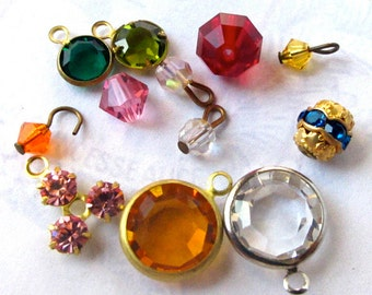 Random Assortment of Swarovski Crystals (12X) (S503)