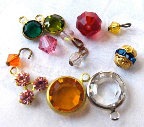 Random Assortment of Swarovski Crystals (12X) (S503)