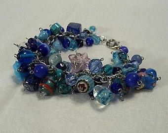 Blue Lagoon cha-cha bracelet