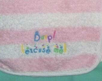 Burp  (excuse me) burpcloth