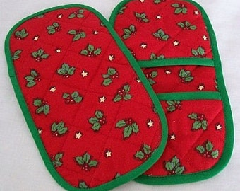 Happy Holly Holiday Marvelous MicroMitts