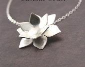 Lotus Blossom with Pearl - Custom Order