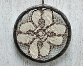 Old Lace Soldered Necklace