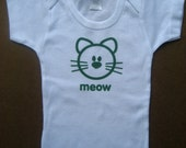 Baby T-shirt- Meow