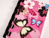 Pink Butterfly Giftcard Notebook  ---  No Value on Card   ---  Novelty Purposes Only