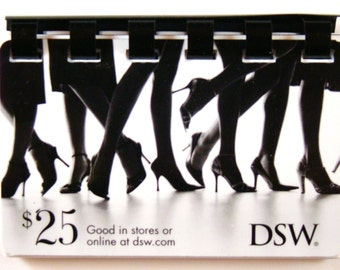 DSW shoe Warehouse Giftcard Note Book -- No Value on Card