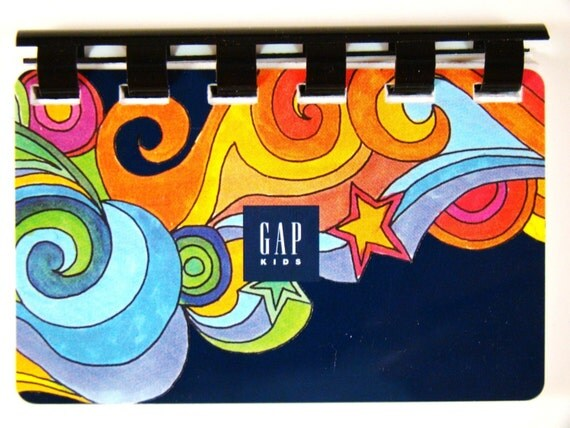Gap Kids Giftcard Notebook --- No Value on Card