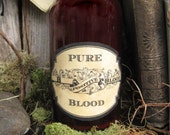 Pure Blood Drink Labels