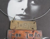 just for today pendant