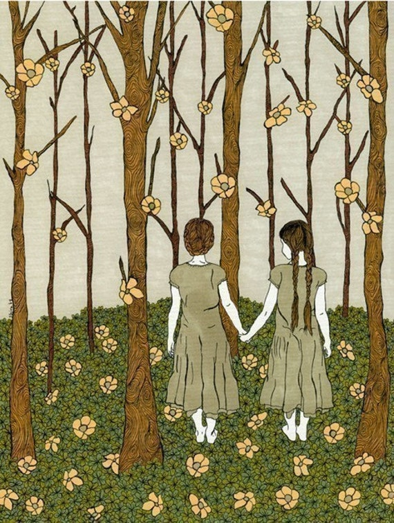 Human Nature - Art print on Velvet Fine Art paper