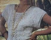 Ladies Knitting Pattern Sirdar Summer