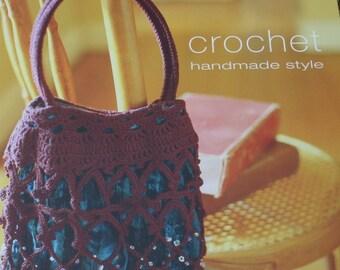 Crochet Patterns crochet handmade style Runner Hats Scarf Shawl Bags Pillow Trim Tank Top Curtains Paper Original NOT a PDF