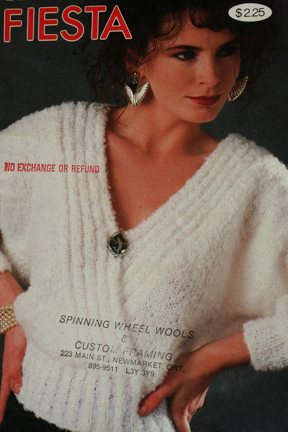 Sweater Knitting Patterns Ladies Quick Knits Patons 604