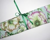Roll-up knitting needle case RESERVED FOR WILDCATDESIGNS