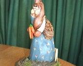 Cypress Knee Rabbit Mama Polymer Clay