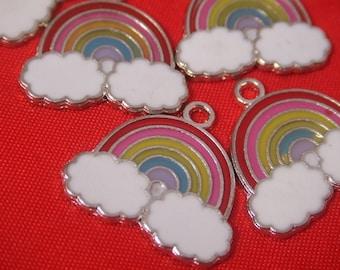 retro rainbow charms