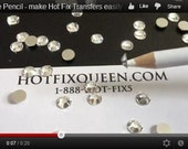 2 Rhinestone Pencils - pick up rhinestones and beads easily with this pencil