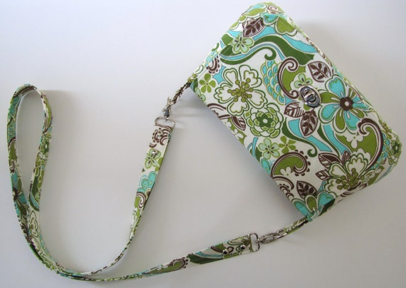 Crossbody Bag in Floral Paisley