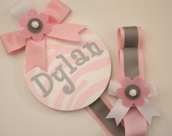 Girls Personalized HAIR BOW HOLDERS