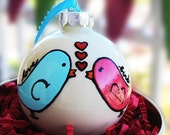 Love Birds Ornament - Personalized
