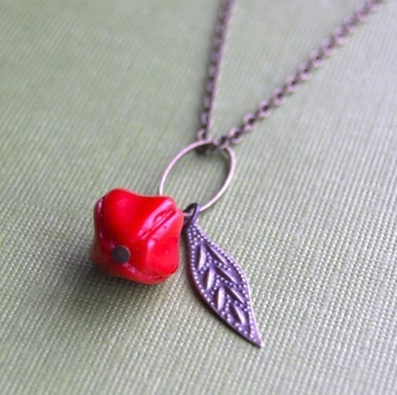 Cherry Pickin Necklace