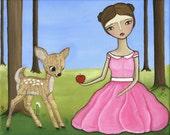 Come a Little Closer PRINT by Lindsay Brackeen