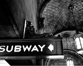 Subway, Fine Art Photography, 8x10 mat