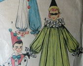 Simplicity 4864, 1950s children's clown costume