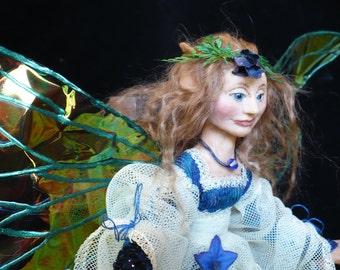 Spring Fairy, Art Doll