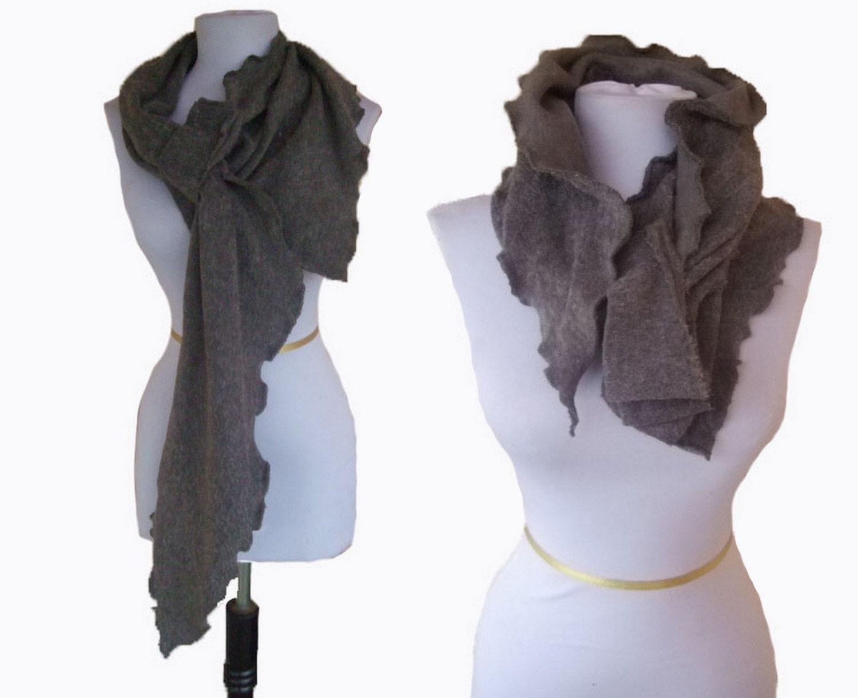 versatile ruffle scarf