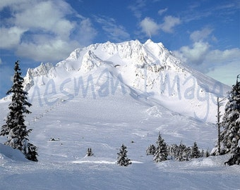 Mount Hood, Oregon, Canvas on Panel or Fine Art Print