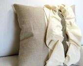 Ruffles Are A Gals Best Friend Pillow \/ Cushion