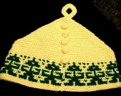 Old fashioned Tea Cozy - yellow